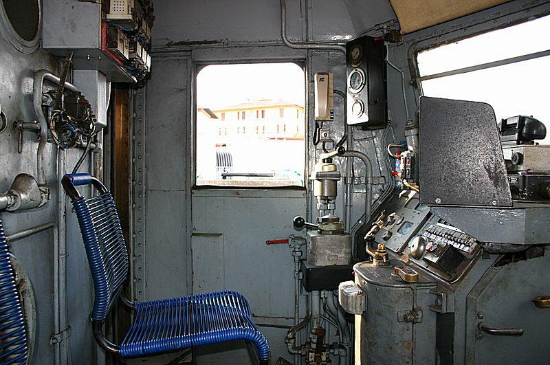 La storia delle e424 for Planimetrie della cabina di log